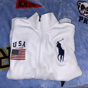 Mens Polo Ralph Lauren Zip Up Jacket
